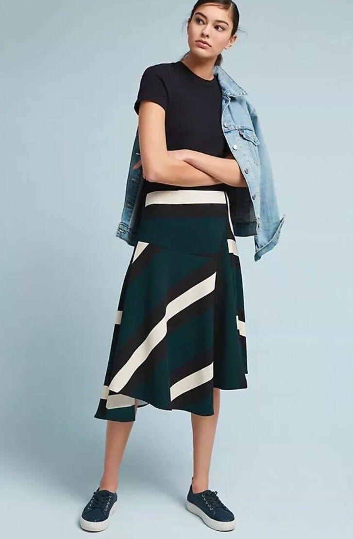 NWT Anthropologie Sporty Flounced Skirt - Größe 2
