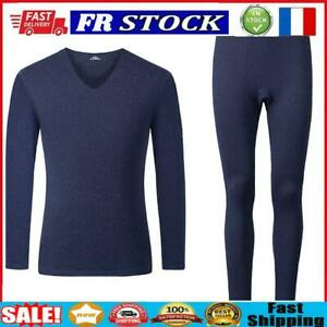 2pcs Seamless Fleece Clothes Set Letter Men Fitness Jumper Pants (Blue 2XL)