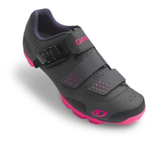 Giro Manta R Damen MTB Schuhe schwarz//pink 2019