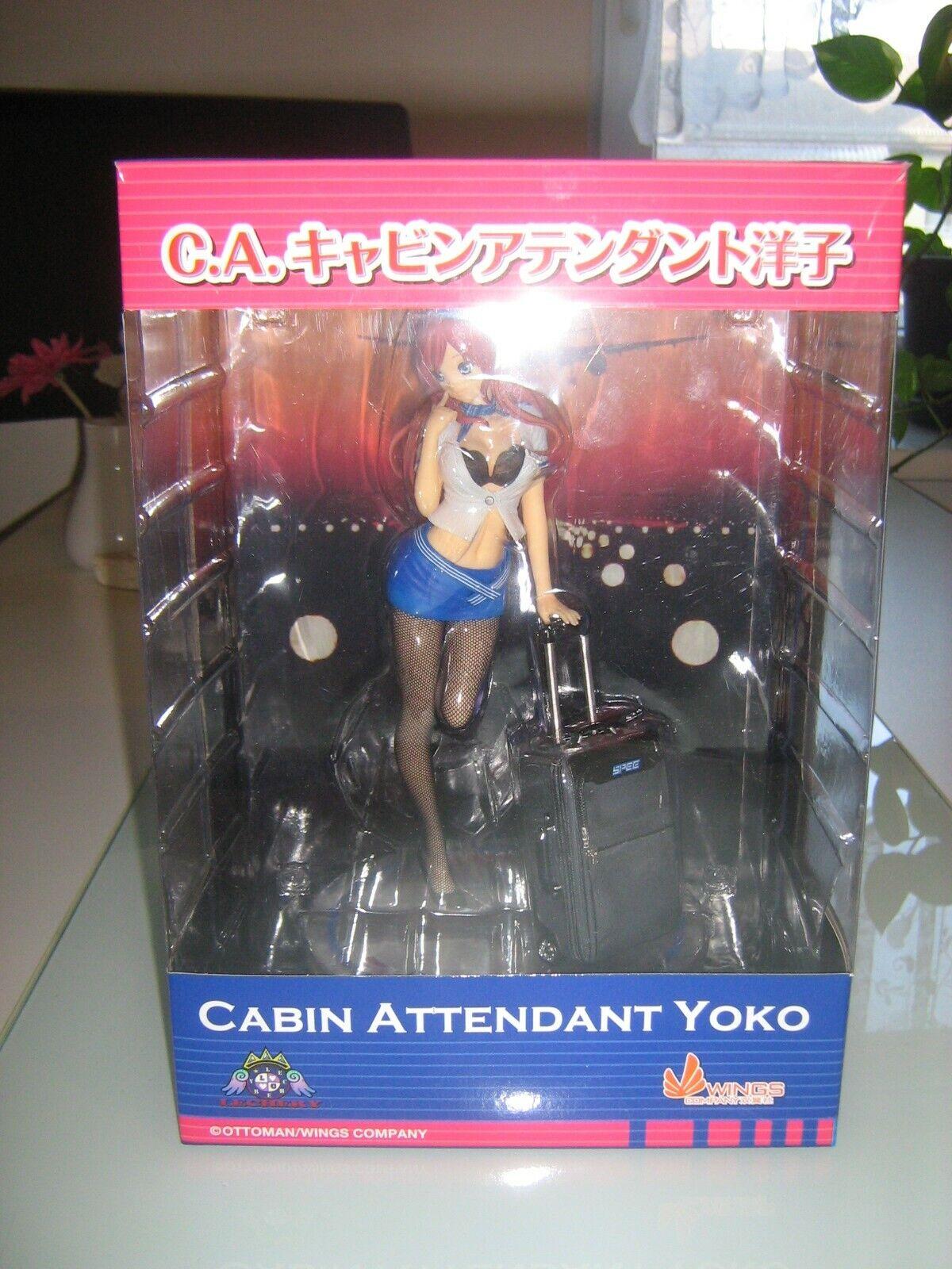 Lechery Cabin Attendant Yoko Miyazawa 1 7 Figur
