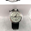 New-BOLIDO-ELEGANCE-Men-039-s-Automatic-Watch-Silver-Black-Leather-Strap-Swiss-Made miniature 1