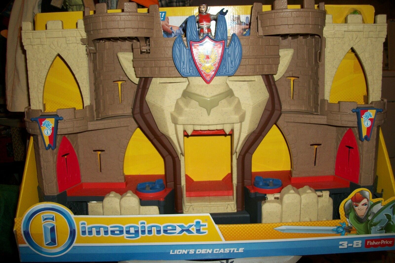 NIB Imaginext Imaginext Imaginext Lions Den Castle, Fisher Price 8b71bf