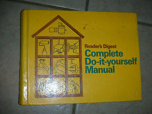 Readers digest complete do it yourself manual 1973 ebay image is loading reader 039 s digest complete do it yourself solutioingenieria Gallery