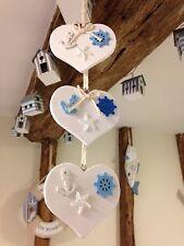 Nautical Hanging Decoration Shabby Chic Heart Anchor Wheel Starfish