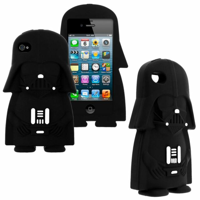 Star Wars Darth Vader 3D Silicone Phone Case For iPhone 5 6 7 8 Plus iPod  T5 T6