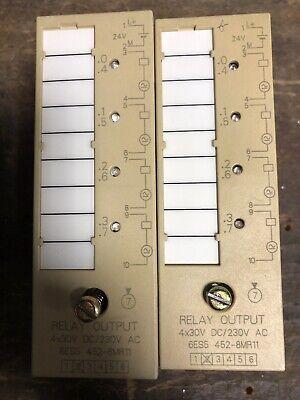 SIEMENS SIMATIC S5 6ES5 421-8MA12 DIGITAL INPUT ONE OR LOT unité ou par lot