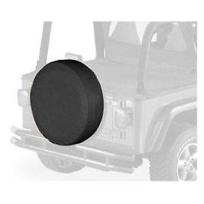 "Bestop 61030-15 Spare Tire Cover Black Denim 30/"" x 10/"" NEW"