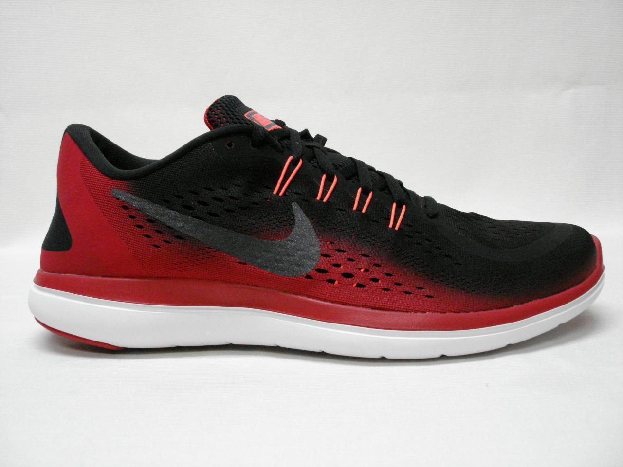 NIB Nike Nike NIB Flex 2018 RN 11 hombres zapatos Rojo Negro ~ dulce mirando zapato comodo y atractivo 0f02e7