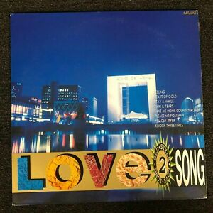 Details About Old Style Love Songs Karaoke Volume 2 Laserdisc Ld Hld 0002 26 Hit Songs