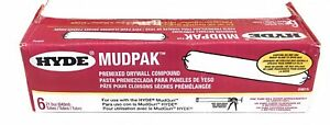 Hyde-Mudpak-09614-Premixed-Drywall-Casing-Compound-Pack-of-6-Repair-Patching