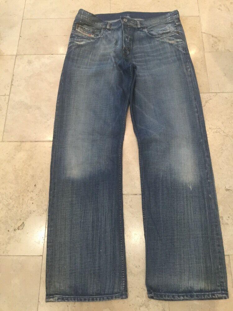Diesel Men's Fade bluee Jeans Trousers U K 36
