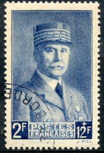 Ordonné Stamp / Timbre De France Oblitere N° 568 Petain