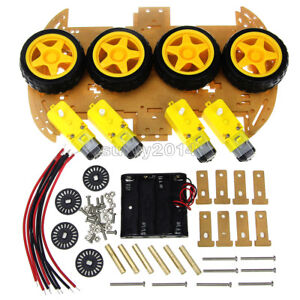 NEW-4WD-Robot-Smart-Car-Chassis-Kits-car-with-Speed-Encoder-for-Arduino