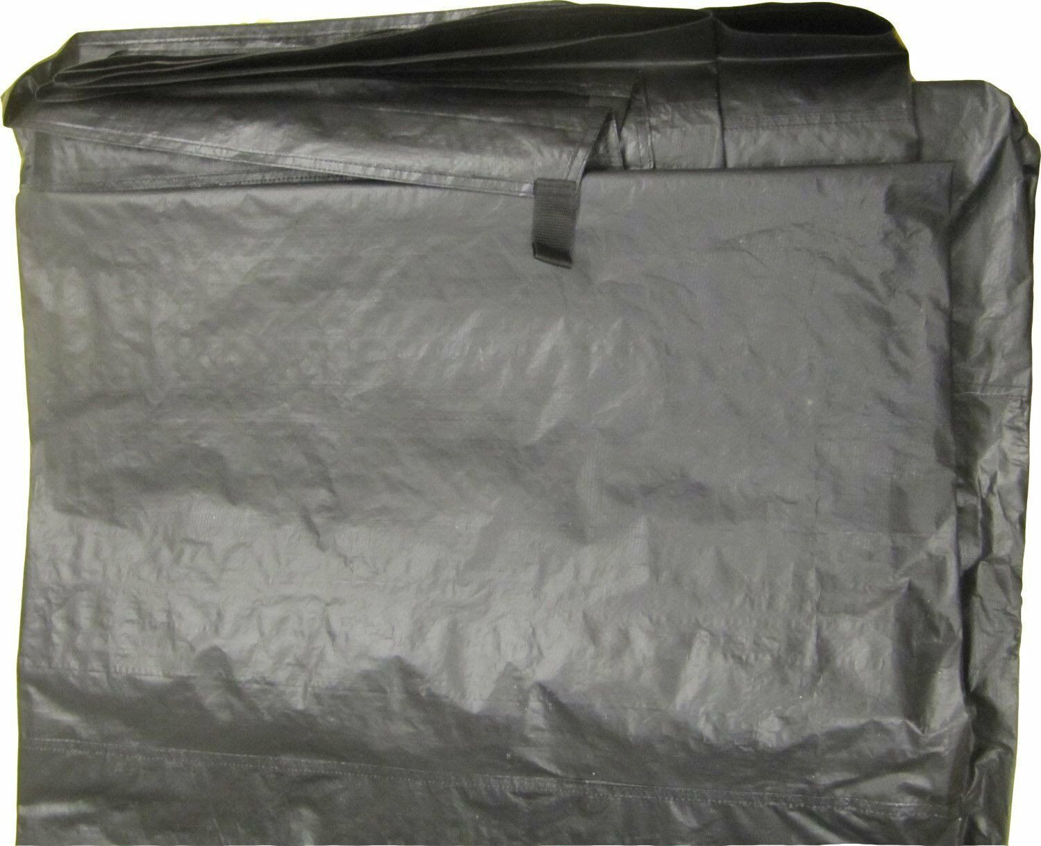 TENT FOOTPRINT GROUNDSHEET 4.7M X 3.2M - FOR TENTS CARAVAN & CAMPER VAN AWNINGS