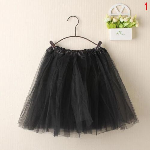 7Farben NEUE Damen Spitze Tütü Tüllrock Ballettkleid Frauen Kinder Party Tu N6A2
