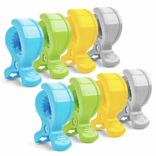 8 Stücke// set Klammer-Clips zur Abdeckungen Decken oder Spielzeug an Kinderwagen