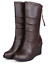 Women-039-s-Winter-boots-Warm-Knee-High-Shoes-Ankle-Boots-PU-Leather-Martin-Boots thumbnail 1