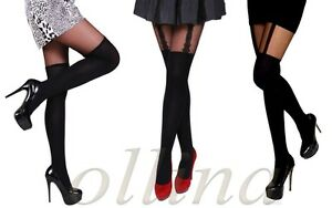BRAND-NEW-TIGHTS-LOOKS-STOCKINGS-LADIES-HOLD-UPS-WOMENS-PANTYHOSE