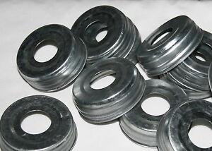 """12 Mason Jar Lids Pre-Drilled 1-1/16"""" - Soap Dispenser Pumps or other DIY Crafts"""