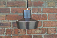 STYLISH DANISH DESIGN AGED COPPER FINISH HANGING LIGHT PENDANT LAMP SHADE DD1