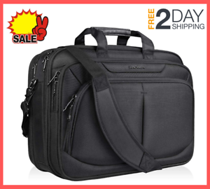 17-1-inch-Laptop-Bag-Briefcase-Water-Repellent-Expandable-for-School-Travel