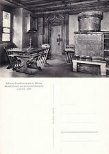 1980's SWISS NATIONAL MUSEUM SWITZERLAND UNUSED REAL PHOTOGRAPH POSTCARD