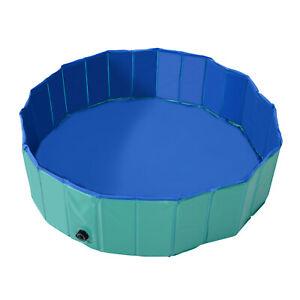 PawHut-PVC-Pet-Paddling-Swimming-Pool-Foldable-Puppy-Dog-Cats-Bath
