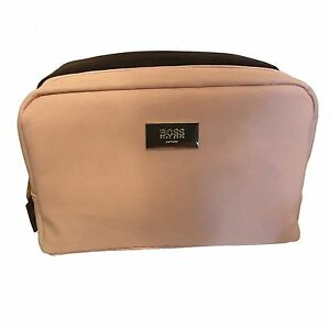 Hugo Boss The Scent His   Hers Toiletry Wash Bag Duo Pink   Brown ... 84f1d01bd36ae