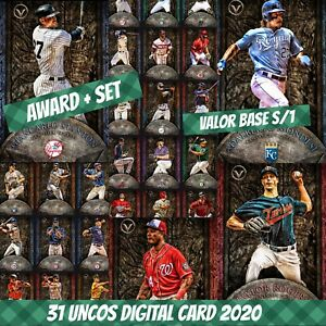 Topps Bunt 20 Giancarlo Stanton Award + Set (1+30) Valor Base S/1 2020 Digital