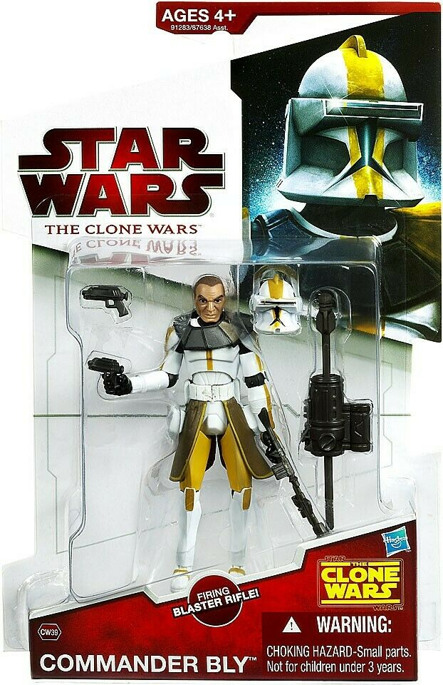Star Wars The Clone Wars Clone wars 2009 Commandant Bly Action Figure CW39