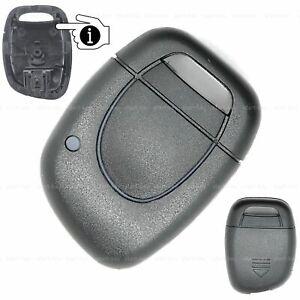 Renault-Twingo-Clio-Auto-Funk-Schluessel-Ersatz-1-Taster-Gehaeuse-Batterie-ab-2002