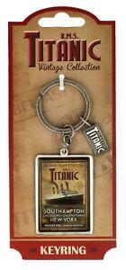 Titanic-Vintage-Collezionisti-Portachiavi-in-Metallo-Sg