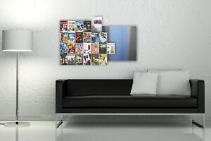 Details zu Design Blu-ray Regal 2.Wahl, BluRay Wandregal/ CD-Wall Blu-rays  als Blickfang