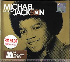 MICHAEL JACKSON & JACKSON 5 The Motown 50 Years MALAYSIA DIGIPAK 3 CD SET RARE