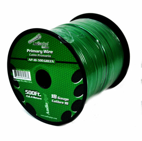 9 Rolls 18 Gauge 500 Feet Primary Remote Wire Stranded Power Cable Copper Clad