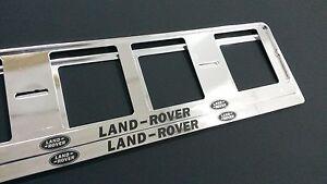 2X-LAND-ROVER-European-Stuck-Kennzeichenhalter