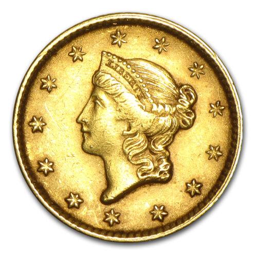 Random Year SKU #23230 $1 Liberty Head Gold Type 1 AU