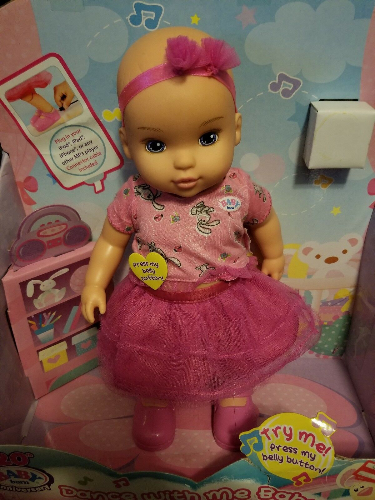 Baby Born Dance with me Baby Doll by Zapf Creation 20th Anniversary