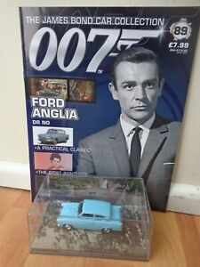 FORD ANGLIA DR NO #89 1//43 JAMES BOND 007 CAR COLLECTION