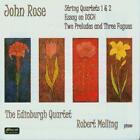 Streichquartette 1 & 2 Und Klavierwerke von Robert Melling,The Edinburgh Quartet (2010)