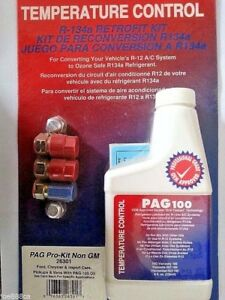 Details about AC R12 to R-134a Retrofit Kit PAG Pro-Kit Non GM 26301 PAG100  for Ford Chrysler
