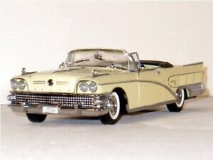 BUICK Limited - 1958 - white - Sun Star 1:18
