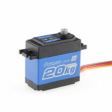 Power HD LW-20MG High-Torque Metal Gears Waterproof Servo 20kg/0.16S 6.6V Max