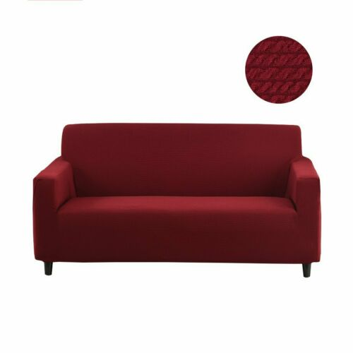 Universal Stretch Chair Sofa Covers 1 2 3 4 Seater Protector Couch Slipcover USA