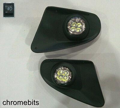 LED FOG DRL DAYTIME RUNNING LIGHTS LAMPS GRILLE SET FOR MERCEDES SPRINTER 2007+