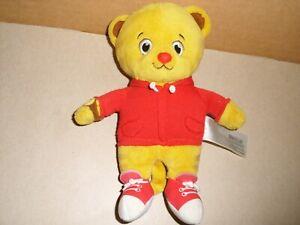 Fred-Rogers-Tollytots-Limited-Daniel-Tiger-Soft-Stuffed-Plush-8-039-039