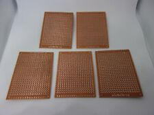 5 Pcs Pack Blank 5x7cm Electronics Prototype Integrated Circuit Building Board