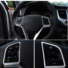 Hyundai Tucson Lenkrad Blenden Rahmen Abdeckung Cover Silber Chrom