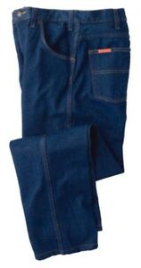 Rugged Denim Blue Jeans