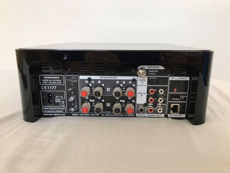 Integreret forstærker, Marantz, M-CR 610